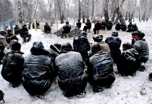 Башкирские похороны. Фотограф: Салават Сафиуллин