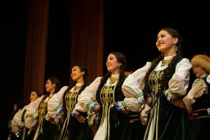 """Фрагмент из башкирского танца """"Гульназира"""". Фотограф: Азат Казакбаев"""