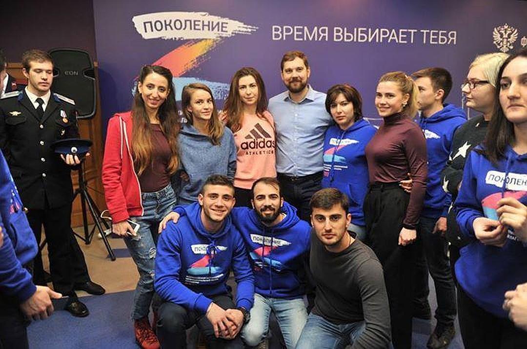На всероссийском межнациональном патриотическом лагере молодежи «Поколение»