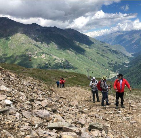 Федор Конюхов поделился в сети фотоотчетом о восхождении на гору Чегет - фото 6