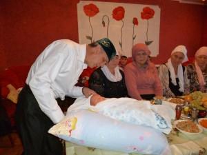 «Исем кушу» ( татарский обычай имянаречения). Фотограф Ильмира Абузярова