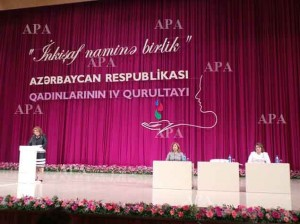 4 съезд женщин Азербайджана