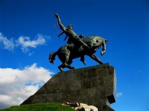 Памятник национальному герою Салавату Юлаеву. Фотограф Юлаева Гюльнур