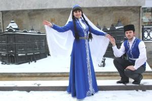 Представители крымско-татарской культуры. Фотограф Эльмира Османова