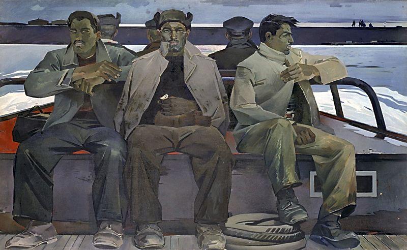 «Ремонтники». 1960