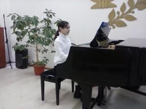 Афина Мамедова, правнучка ветерана