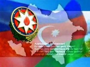 Azerbaycan bayragi ve gerbi 171011