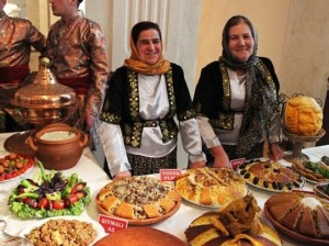 Азербайджанские блюда для гостей Евроигр