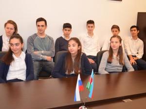Бакинским школьникам рассказали о блокадных днях Ленинграда2