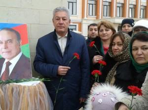 В Дербенте почтили память Гейдара Алиева 3