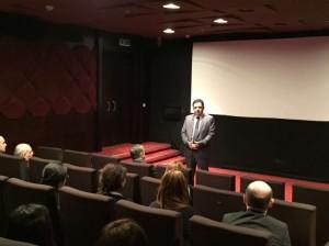 В Киноцентре Низами в Баку