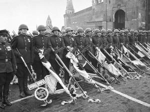В России отмечают юбилей легендарного Парада Победы