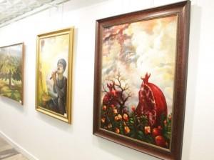 В ЦДХ проходит юбилейная выставка Аскера Мамедова