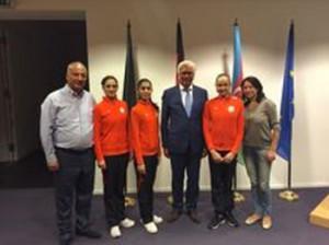 В Штутгарте состоялся прием в честь азербайджанских спортсменов