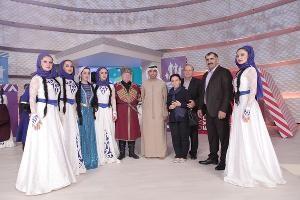Дубай принял первый Международный фестиваль кавказского танца