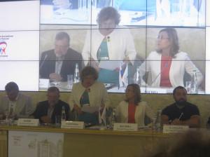 Заседание Ассамблеи народов России