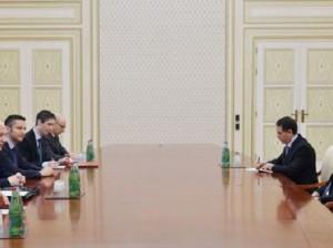 Ильхам Алиев встретился с делегацией ПА ОБСЕ