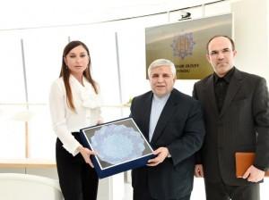 Мехрибан Алиева встретилась с послами Франции, Ирана и Египта 1