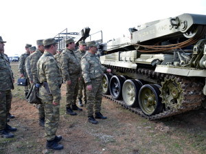 Минобороны Азербайджана проводит крупномасштабные учения