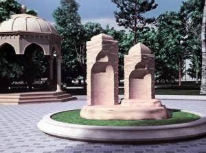 Парк российско-азербайджанской дружбы в Волгограде