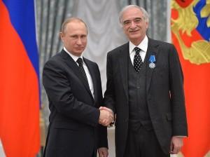 Путин и Полад Бюльбюль