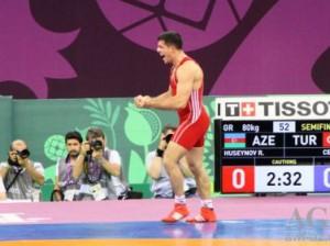 Рафик Гусейнов стал чемпионом Всемирных игр среди военнослужащих