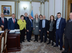 Российские ученые побывали в НАНА