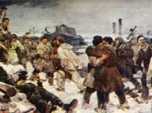 Сегодня - 72-я годовщина снятия блокады Ленинграда