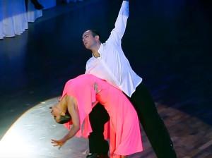 Танцоры из Азербайджана Ильхам Османов и Елизавета Новикова