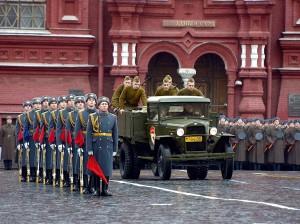 марш, посвященный Дню воинской славы и параду 1941 года