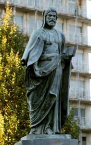 Памятник Низами в Баку