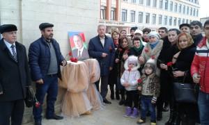 В Дербенте почтили память Гейдара Алиева 2