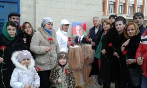 В Дербенте почтили память Гейдара Алиева 5
