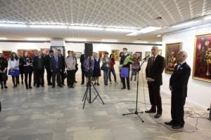 В ЦДХ проходит юбилейная выставка Аскера Мамедова-2