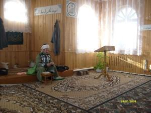 В мечети. Фотограф: Денис Полушкин