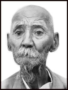 Старик ногаец.Республика Дагестан, Ногайский район, аул Кумли.Фотограф Якуб Уразакаев