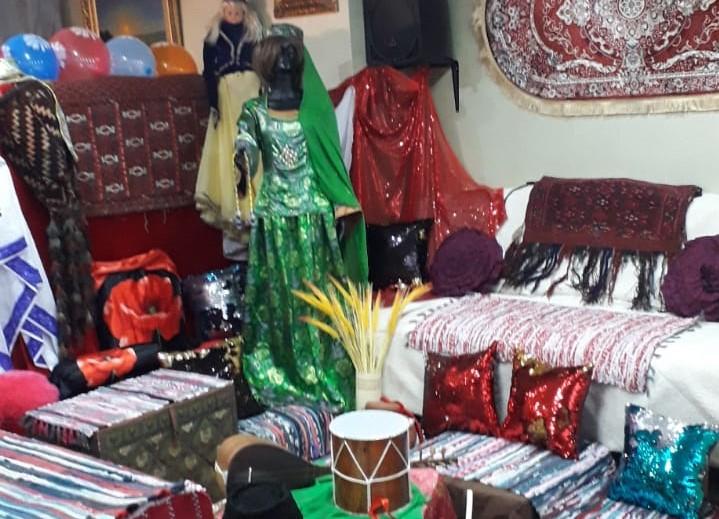 Национальный уголок Азербайджанского культурно-образовательного Центра ФНКА АзерРос
