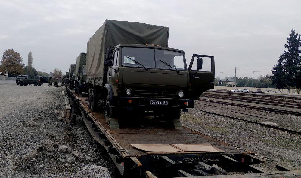 Проводится деятельность по обеспечению миротворческого контингента Российской Федерации (ФОТО/ВИДЕО) - Gallery Image